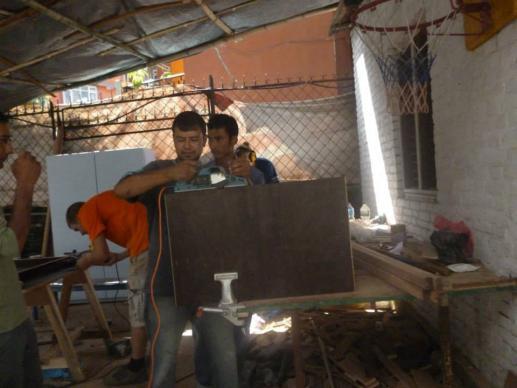 fotos van eerdere projecten voor Nepal SERC