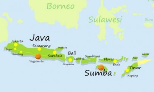 Eiland Sumba Indonesie