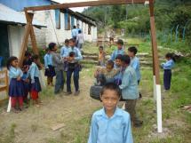 zomerproject Meubels voor Nepal 2012